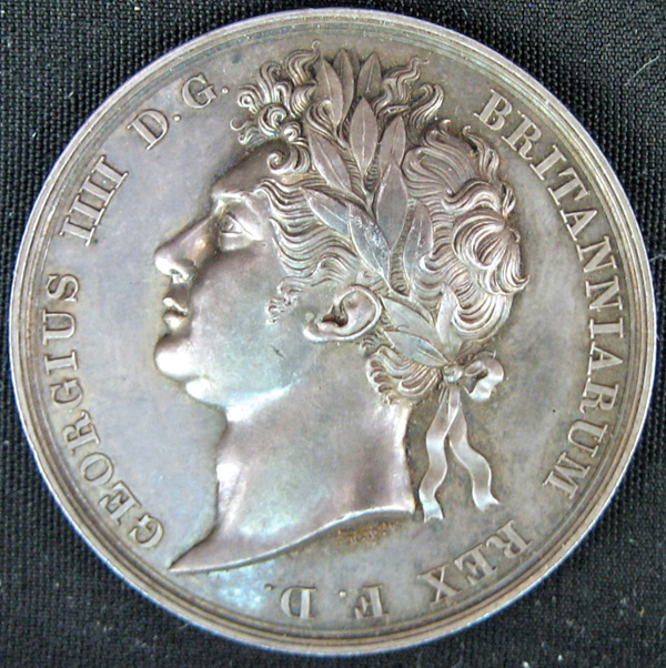 british silver coronation medallion