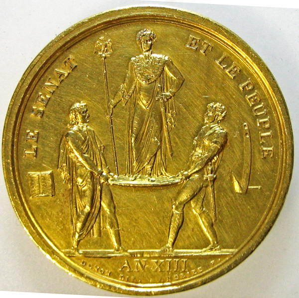napoleon gold medal
