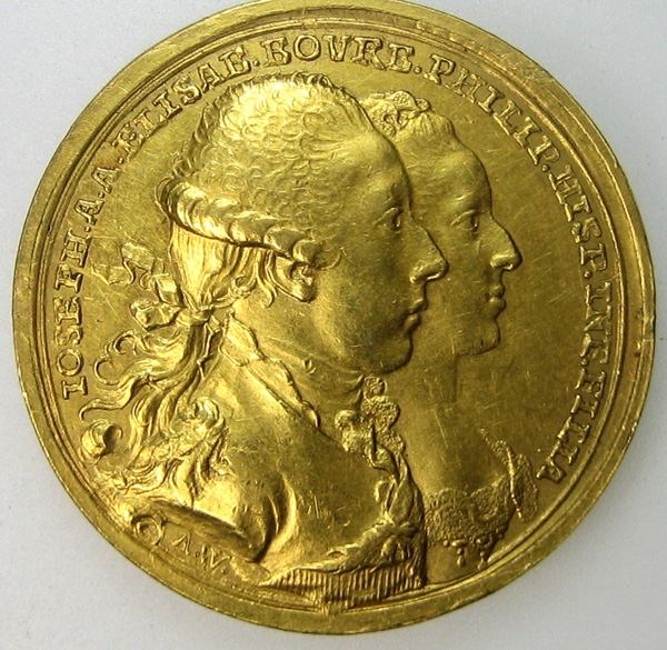 coronation gold medal