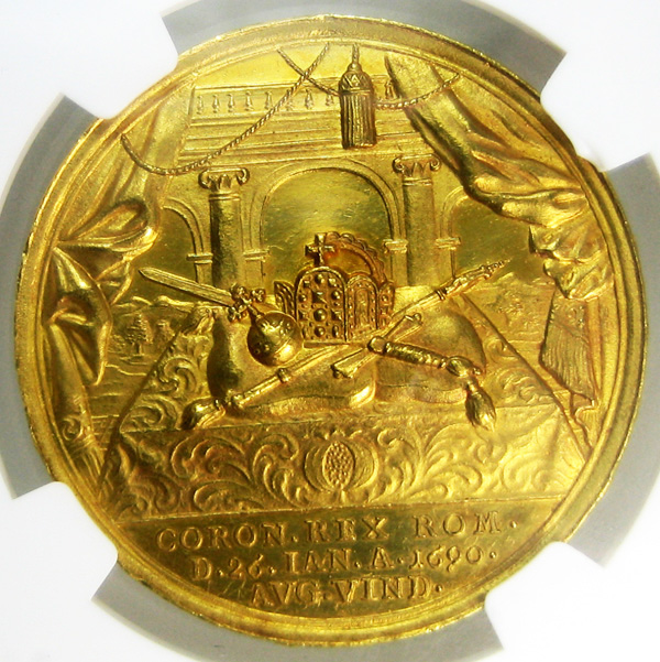 roman coronation gold medal